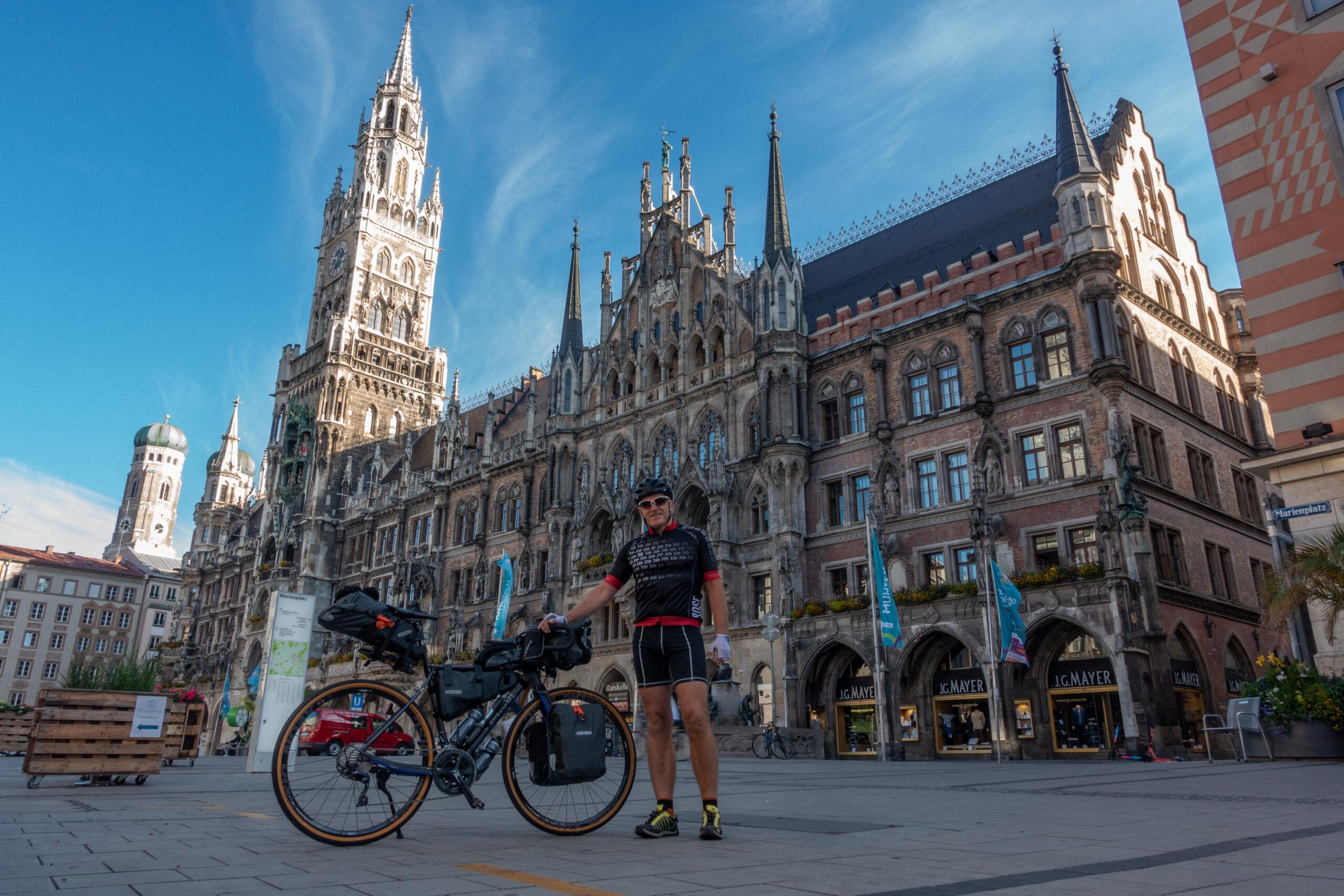 1. Tag: München nach Innsbruck